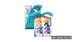 菓包 碧10個入(紫心4個/朱玉2個/柚流2個/青梅1個/黒豆1個)/風呂敷包み