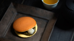 [黒ノ菓子折02] ほんわか丸(どら焼き)抹茶3個/黒幻月4枚